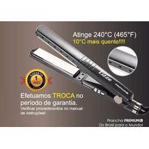 Chapinha Nano Titânio Premium 1 1/4 240 Graus+ Secador Lizze