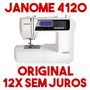 Máquina De Costura Janome 4120qdc + Barato Em Estoque Top