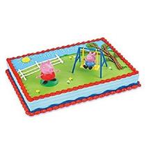 Juguete Panadería - Crafts Peppa Pig Kit De La Torta, 1cake