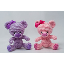 Ositos De Crochet Elige El Color De Tu Agrado