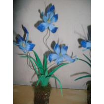 Flores De Goma Eva Laferrere - 10 Centros De Mesa