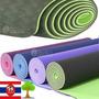 Premium Mat Yoga Colchoneta Pilates Caucho Eco Tailandes New