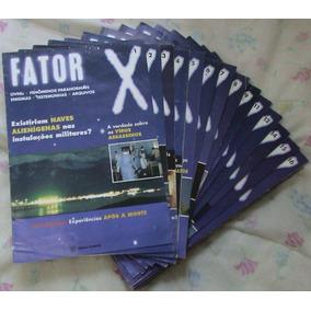 Fator X Fascículos (ed. Planeta 1998) Vários Números