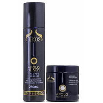 Kit Oikos Shampoo 250ml+mascara 500ml Apolo Matizador