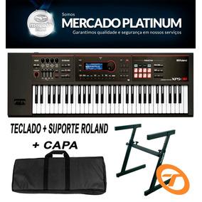 Teclado Roland Xps-30 + Fonte + Suporte + Capa C/ Garantia