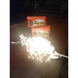 Serie De 100 Luces Navideñas/ Navidad Tipo Lluvia Cascada
