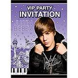 Lote Decoração Festa Completa Justin Bieber C/ 36 Itens
