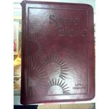 Biblia Letra Gigante Canto Dorado Con Forro