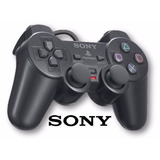 Kit 2 Controles Manete Serie A Original Ps2 Sony+memory Card