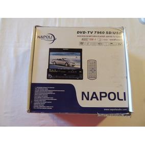 Dvd Automotivo Retrátil Napoli 7960 Sd/usb Modelo Antigo