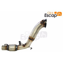 Downpipe Inox 304 Bmw 118 116 Turbo (+) Espaçador