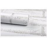 Papel Contact ( Auto-adesivo / Parede) Tijolo Cinza 10 Mt
