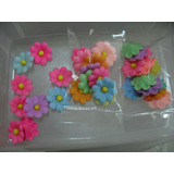 Flores Para Tortas - Masa Flexible Colores Surtidos Docena