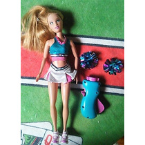 Barbie Summer Pom Pom Divas Cheerleader Lider De Torcida