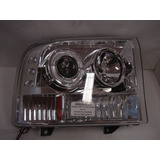 Projector Ford F250 Super Duty Pickup 97 Up Cromado