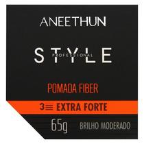 Aneethun Pomada Fiber Style Profiss. 65gr Extra Forte, Brilh