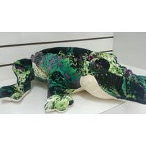 Crocodilo Gigante De Pelucia Fofy Toys 82cm