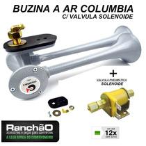 Buzina Ar Caminhão Columbia 2 Cornetas + Valvula Solenoide