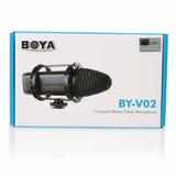 Microfono Boya Mod. By-v02 ( Envio Gratis )
