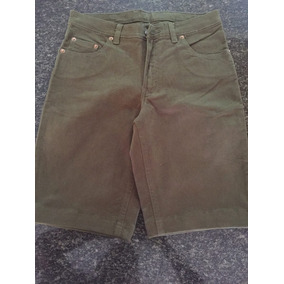 Short Lois Color Verde Talla 28