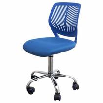 Silla Juvenil 40% Off Azul Escrit Giratoria Ofic Microcentro