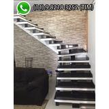 Escada Pre Fabricada Reta U L J Concreto À Partir De R$999
