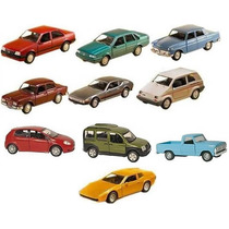 Kit Com 10 Miniaturas Metal Clássicos Nacionais Brasileiros