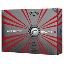 Callaway Chrome Soft X Pelota Para Golf Nueva En El Mercado