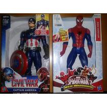 Figuras De Acción Interactivas De Marvel