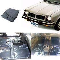 Tapete Carpete Vinil Verniz Assoalho Chevrolet Chevette