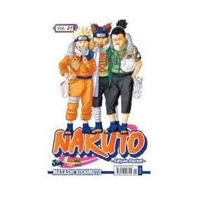 Mangas Naruto Pocket Vários Volumes
