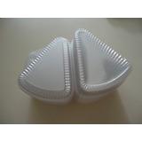 Envases Plasticos Triangular Para Tortas Perfil Ambos