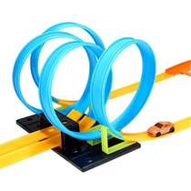 Pista Looping 360º 4 Voltas Tipo Hot Wheels + Carrinho