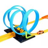 Pista Looping 360º 4 Voltas Tipo Hot Wheels + Carrinho