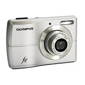 Câmera Digital Olympus Fe-26 12mp Prata Cartão Sd 1gb