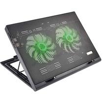Base Cooler Gamer Externo Com Led Luminoso P/ Notebook