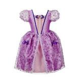 Vestido Fantasia Princesa Sofia Pronta Entrega -temas Disney