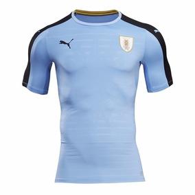 Camiseta Uruguay Auf | Puma Celeste 2016 | Rincón Del Hincha