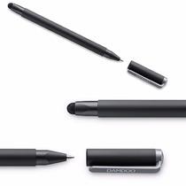 Lapiz Wacom Bamboo Duo Pen Stylus Azul Rosa Tableta Digital