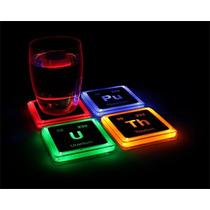 Porta Vasos Radioactivos Con Luz Geek