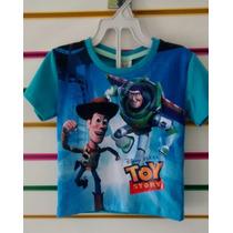 Camiseta Infantil Toy Story Fakini Buzz Ref 2498