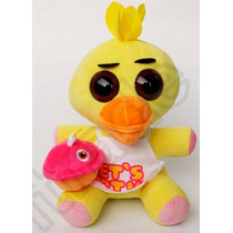 Peluche Five Nights Chica 25 Cm Gran Calidad