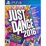 Juego Nuevo Original Para Playstation 4 Just Dance 2016 Ps4
