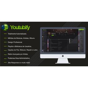 Youtubify - Site Spotify + Instalação + Hospedagem!