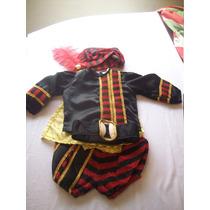 Disfraz De Principe, Rojo Carnaval Niño Tallas 1, 2, Y 4