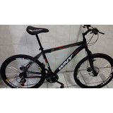 Bicicleta Wny/gallo De Aluminio 21v C/susp E Freio A Disco