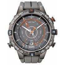 Relógio Timex Bússola, Tábua De Maré Termômetro T49860wkl/tn