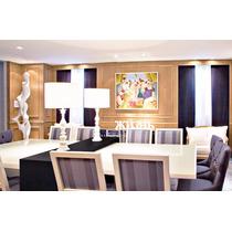 Mesa Jantar Laca Branca Para Até 12 Lugares