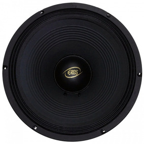 Woofer 12 Eros E-12lc Black - 400 Watts Rms