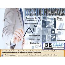 Tesis De Finanzas Asesorías